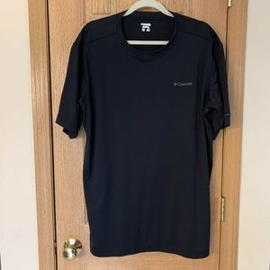 Columbia Black T-Shirt Tee Top XL Short Sleeve Men